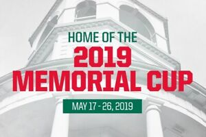 Memorial Cup semi-final lower bowl tickets Friday May 24th