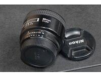 Nikon prime lens 85mm f2.8 D