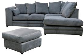 Casper Fabric corner Sofa Or 3+2 Sofa Different Colors Available Fast