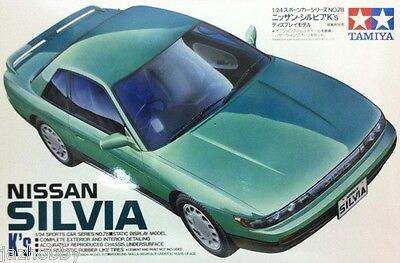 Tamiya 24078 1/24 Scale Model Car Kit Nissan Silvia S13 K's Series