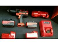 Snap on 1/2 inch battery impact gun