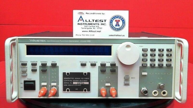 Wavetek 288 Synthesized Function Generator