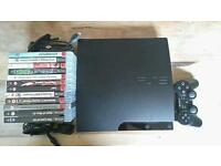 PS3 SLIM plus games