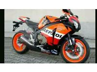Wanted 600-1000cc sports bike
