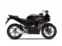 Honda CBR125R - Only 7 Miles!