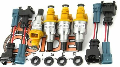 440cc JDM Toyota 4AGZE Supercharged Fuel Injectors Genuine Bosch 1986-91 Engine