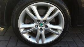 All season tyres ! Genue skoda fabia alloys R16 seat vw