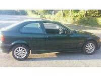 Bmw 316i compact (not corsa, seat, ford, audio, vw)