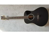 Beautiful hand-built Yamaha LLX16 in rare all-black gloss finish