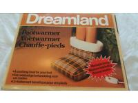Dreamland footwarmer - electric