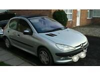 Peugeot 206 1.4hdi. 2002. £30 tax