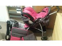 Graco candy travel system