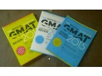 GMAT 2015 official guides quant and verbal review