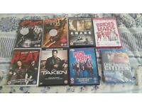 12 dvds and 1 blu ray bundle