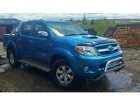 Toyota hilux 3ltr NO VAT!!!! Price reduction need sold.