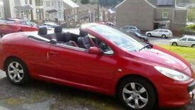 Peugeot convertible 307