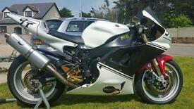 R1 Track/race bike (high spec) px 600