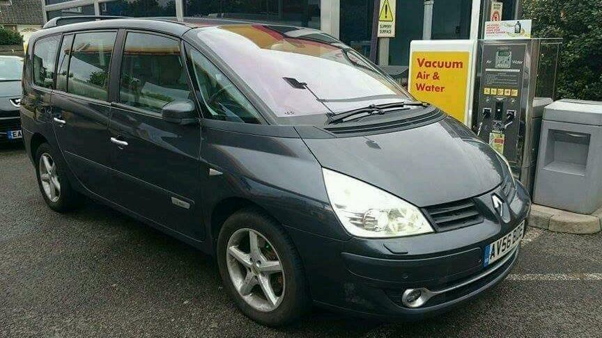 renault grand espace initiale paris 2006 mot diesel in. Black Bedroom Furniture Sets. Home Design Ideas