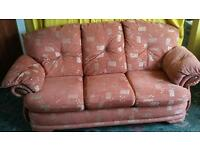 3 piece suite in great condition.