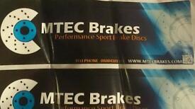 Brake pads and disc Toyota supra