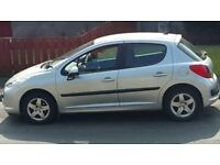 swap or sale Peugeot 207 sport 206
