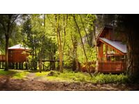 Two log cabins in Thetford, with hot tubs and BBQ's - Friday 20th July-Monday 23rd July