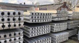 Various sized concrete post