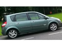 Renault scenic 1.9 dci breaking. Heated half leather