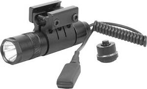 CREE-LED-TACTICAL-FLASHLIGHT-W-MOUNT-AND-PRESSURE-SWITCH-90-LUMENS-3-WATTS-NEW