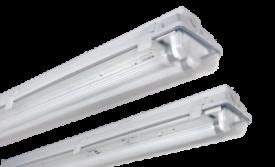 5ft single vapourproof fluorescent light fitting.