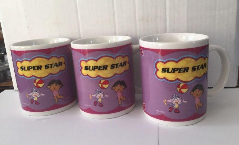 Dora The Explorer SUPER STAR Mug Cup Dora & Boots Coffee Tea Hot Chocolate Mug