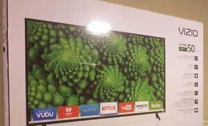 "As New Vizio 50"" D-Class Smart TV"