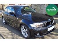 £209.77 PER MONTH BLACK 2011 BMW 118D 2.0 SE COUPE DIESEL AUTOMATIC