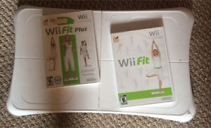Wii fit and wii fit plus w/board