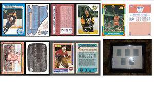 Hockey Rookie Reprint Cards and Frame…Cheap…Sale/Trade