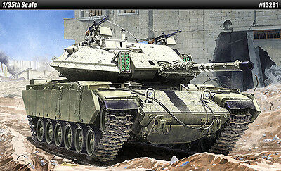 [Free Shipping] ACADEMY 1/35 Magach 6B Gal Batash IDF Tank #13281