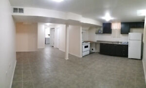 Basement Apartment 1BR and Den for Rent Immediately