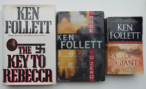 3 Ken Follett books including first edition hardcover Oakville / Halton Region Toronto (GTA) image 1