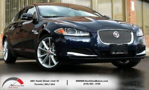 2015 Jaguar XF LUXURY|AWD|Navigation|Sunroof|Backup|Blind Spot