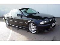 BMW 330Ci Sport Convertible - Black - Auto - Black Leathers