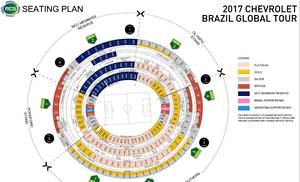 BRAZIL vs ARGENTINA MCG - 5 PLATINUM TICKETS HALFWAY LINE ROW 8 Hurstville Grove Kogarah Area Preview