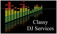 Classy DJ Services - for all your wedding reception needs !