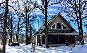 Beautiful A-Frame St. Malo Cottage Rental for Spring 2017