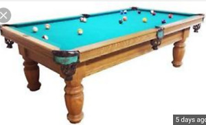 *Looking for* an old wooden pool table for a project