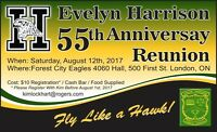 EVELYN HARRISON 55TH ANNIVERSARY REUNION