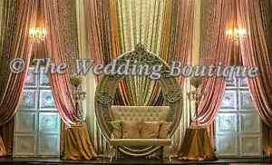 BOOK YOUR LAST MINUTE WEDDING BACKDROP DECOR BY MADIHA