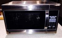 GE Microwave Oven with Convection and Grill