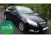£151.45 PER MONTH BLACK 2009 VAUXHALL INSIGNIA CDTi 2.0 SRI SAT NAV DIESEL AUTO