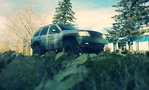 2000 Jeep Grand Cherokee limited lifted