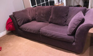 Comfy Purple Couch